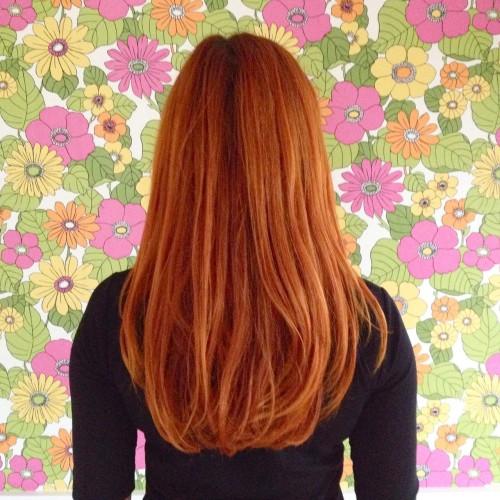 hårfarge, henna, ginger, redhead, signe schineller, aveda hårfarge, aveda ginger, borge tapet, finndintapet, boligkrise, boligstyling, interiørstyling,rødt hår,