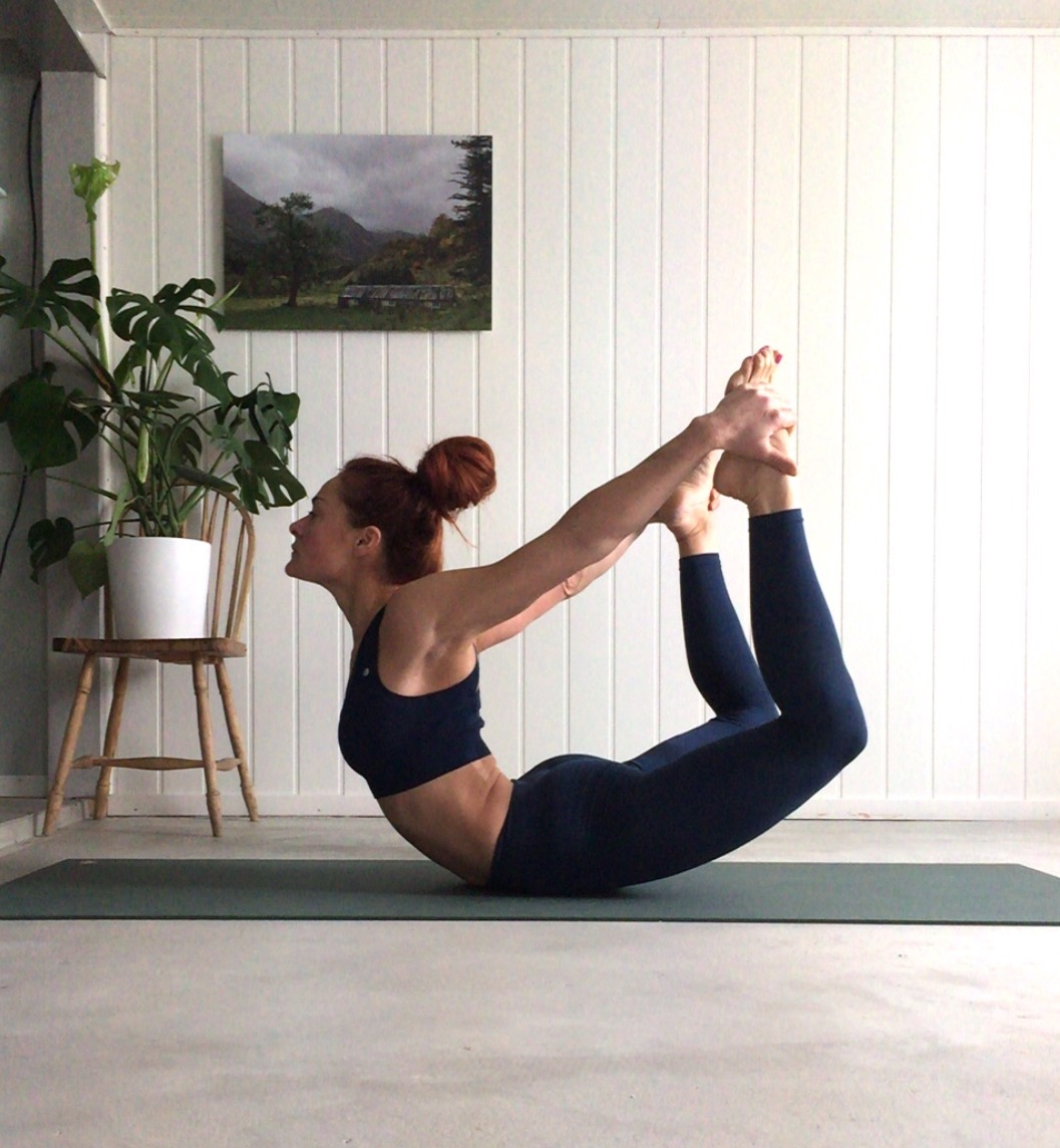 Dhanurasana- Bow Pose, yoga, prayer pose, yoga i rosendal, signe schineller, yoga signe schineller, run & relax, yoga retreat, yoga med signe, manduka, lumi yoga,